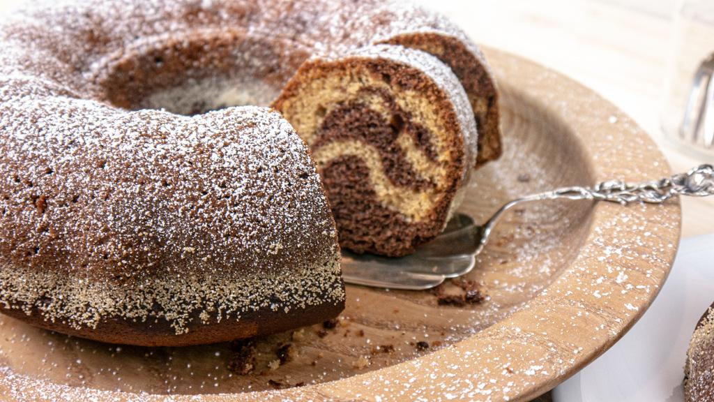 Hofgutshop.de - Rezept für einen veganen Marmorkuchen