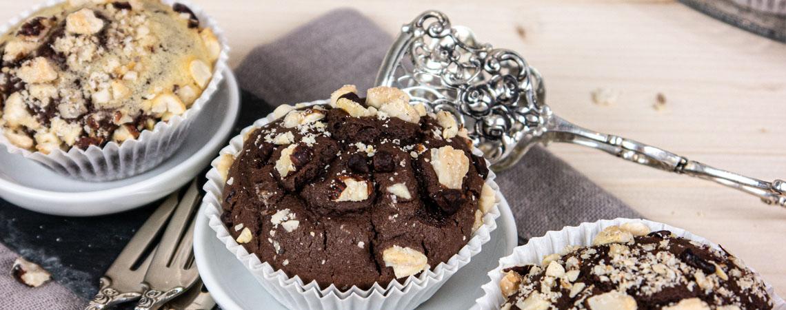 Hofgutshop.de - Rezept für leckere Vanille-Schoko-Muffins